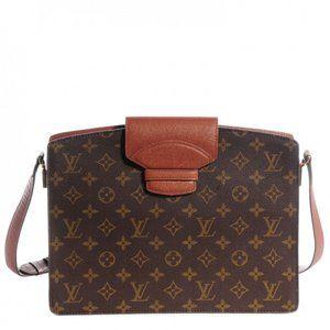 Louis Vuitton Authentic Monogram Courcelles bag